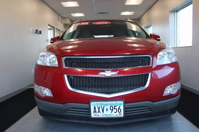 Used 2012 Chevrolet Traverse 1LT with VIN 1GNKVGED1CJ351648 for sale in Virginia, Minnesota